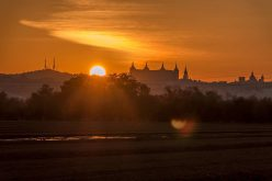 Atardecer en Toledo desde la senda del rio Tajo