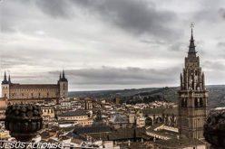 Impresionante vista desde las torres de la Iglesia de San Ildefonso.