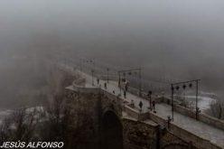 Niebla en el Puente de San Martín