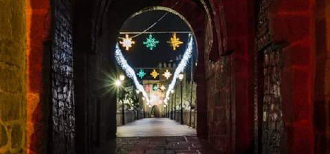 Puente de San Martín en Navidad
