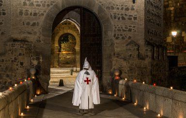 El guerrero templario en Toledo