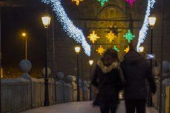 Las luces de la Navidad