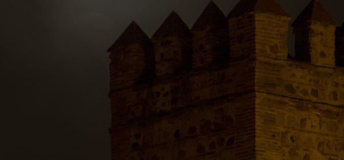 Gran Luna en Toledo, el día de Santa Lucia. 13 de Diciembre de 2016.