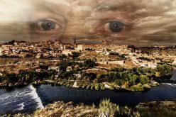 Mirando a Toledo desde los cielos